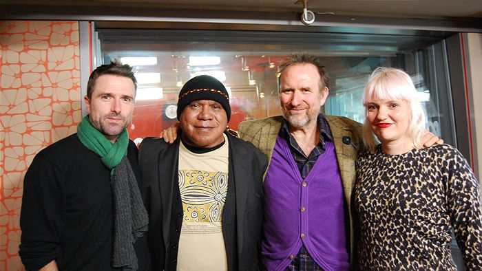 David Michod, Archie Roach, Colin Hay, Jacinta Parsons (John Standish - ABC Local)