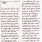 scotsman review colin hay get rid of the minstrel