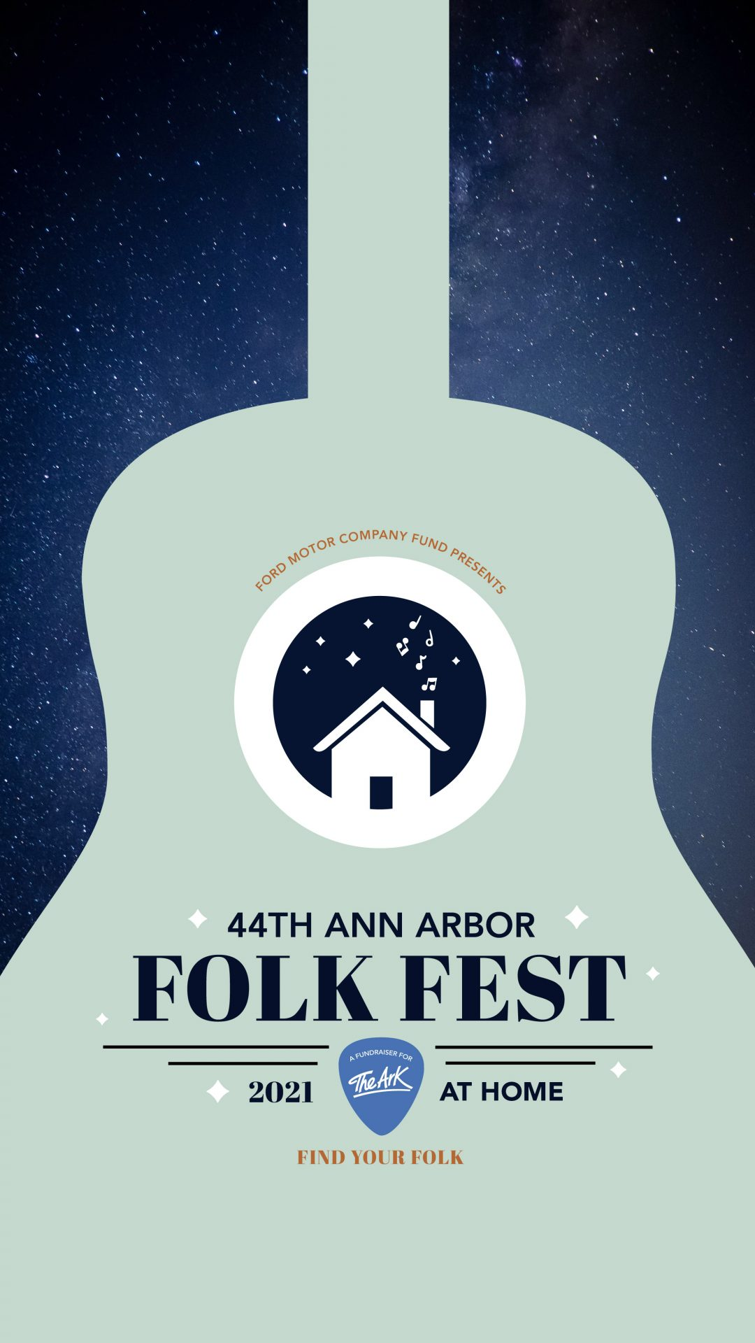 Join Colin at the 44th Annual Ann Arbor Folk Festival!