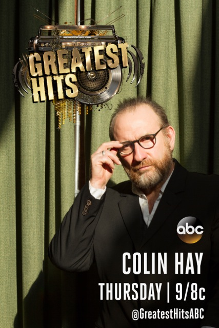 """Colin Performs on ABC's """"Greatest Hits"""" Tonight"""