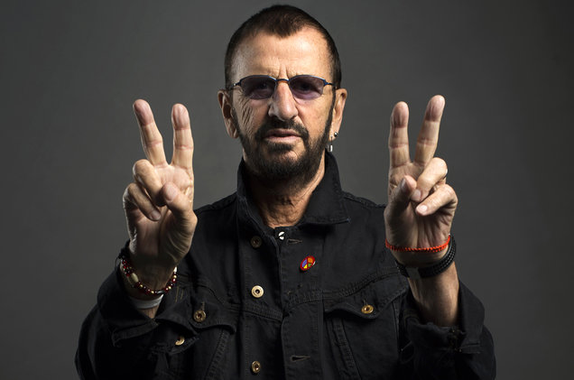 """Colin, Ringo Starr & Others on United Nations track """"Now The Time Has Come"""""""