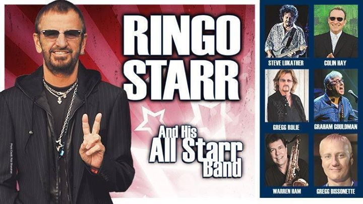 New Fall US Tour Dates with Ringo Starr's All Starr Band!