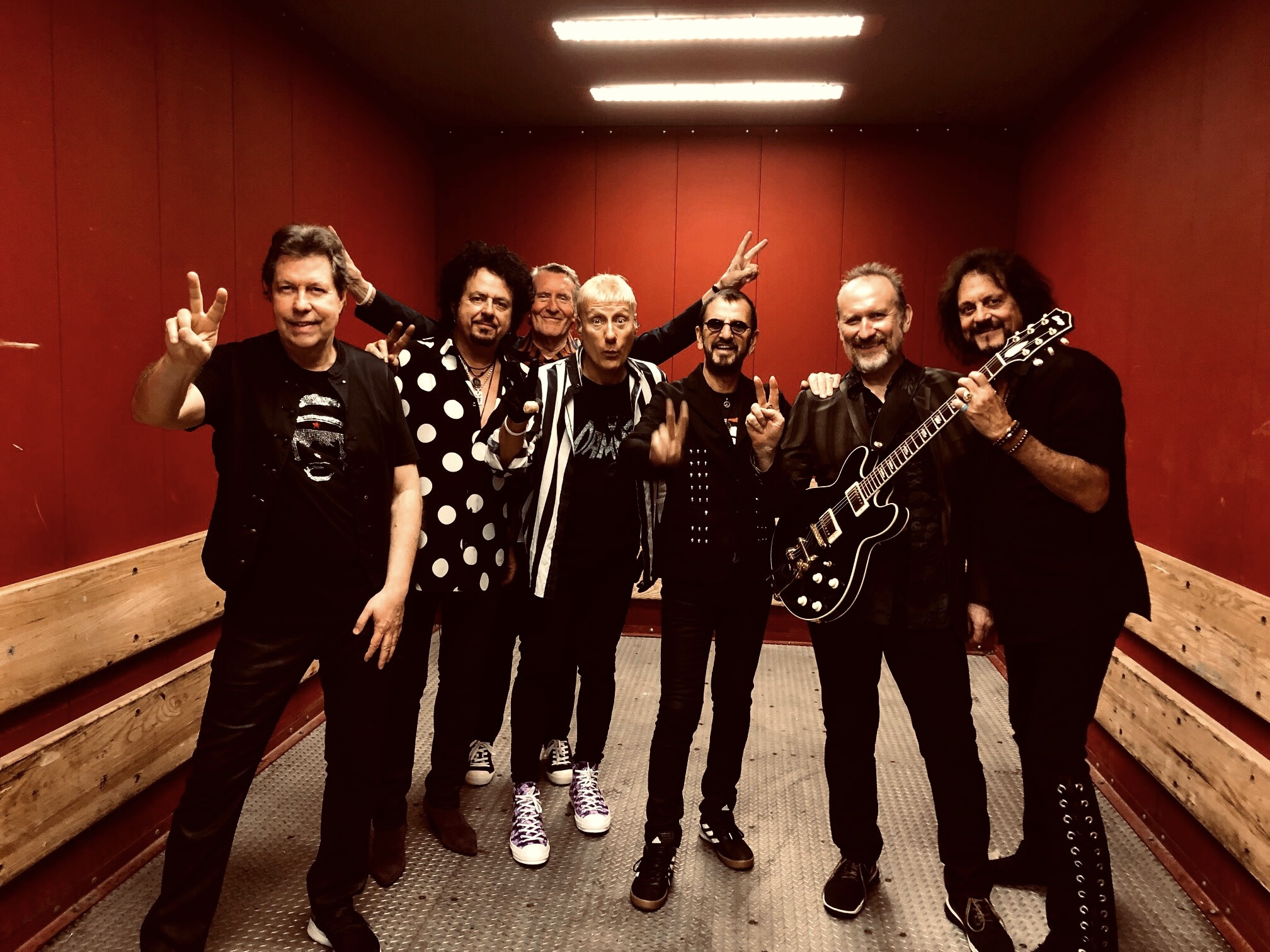 Ringo Starr and His All-Starr Band Tour 2019 : Pictures from the Road